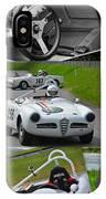 Alfa Romeo Milano Collage IPhone Case