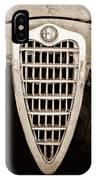 Alfa Romeo Milano Grille Emblem IPhone Case