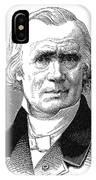 Alfred Armand Velpau (1795-1867) IPhone Case