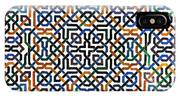 Alhambra Tile Detail IPhone X Case