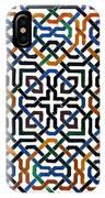 Alhambra Tile Detail IPhone Case