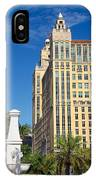 Alhambra Towers - 1 IPhone Case