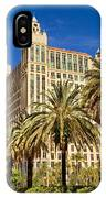 Alhambra Towers - 2 IPhone Case