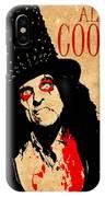 Alice Cooper 1 IPhone Case