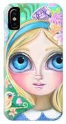 Alice In Pastel Land IPhone Case