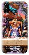 Alice In Wonderland 06a IPhone Case by Zenescope Entertainment