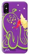 Alien Ice Cream -vector Version IPhone Case