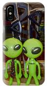 Aliens And Whatamacallit IPhone Case