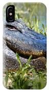 Alligator Smiling IPhone Case