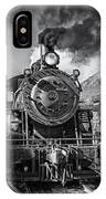 All Aboard Bw IPhone Case