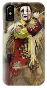 Pow Wow All About Time IPhone Case