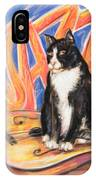 All That Jazz Cat IPhone Case