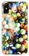 All The Marbles IPhone Case