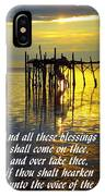 All These Blessings IPhone Case