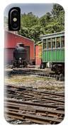 Allaire Rail Yard IPhone Case