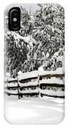 Allaire Snow IPhone Case
