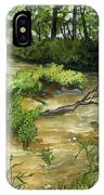 Allequash Creek On Trout Lake IPhone X Case