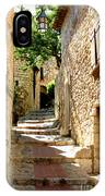 Alley In Eze, France IPhone Case