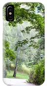 Alley Of The Petrin Park. Prague IPhone Case