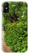 Alley With Green Plants IPhone Case