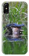 Alligator Appetite IPhone Case