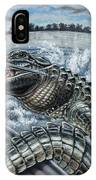 Alligator Hunt IPhone Case