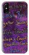 Alligator Sausage For Five Dollars 20130610 IPhone Case