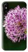 Allium Flower IPhone Case