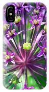 Allium Series - Close Up IPhone Case