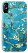 Almond Blossom Branches Print IPhone Case
