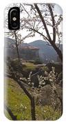 Almond Tree And Monastery   #9815 IPhone Case