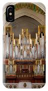Almudena Cathedral Organ IPhone Case