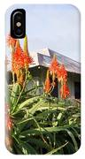 Aloe Vera And Tin Roof Plantation House IPhone Case