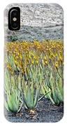 Aloevera Plantation Lanzarote IPhone Case