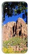 Along Emeral Pools Trail - Zion IPhone Case