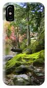 Along Sooke River IPhone Case