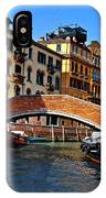 Along The Canals Of Venice IPhone Case