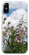 Along The Fence IPhone Case by Vickie Szumigala