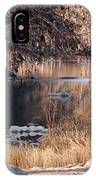 Along The Pedernales IPhone Case