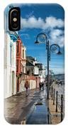 Along The Promenade - Lyme Regis IPhone Case