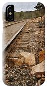 Along The Tracks IPhone Case