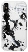 Alps In Black And White IPhone Case