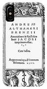 Althamer Title Page, 1527 IPhone Case