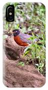 Am Robin IPhone Case