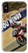 Ama Superbike Cory West IPhone Case