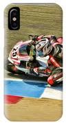 Ama Superbike David Anthony IPhone Case