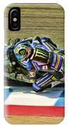 Ama Superbike Josh Jayes From Above IPhone Case