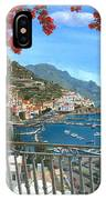Amalfi Vista IPhone Case