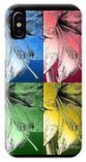 Amaryllis Pop Art IPhone Case
