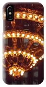 Amazing Art Nouveau Antique Chandelier - Grand Central Station New York IPhone Case